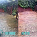 wood before after